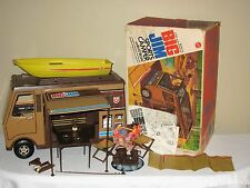 Big Jim Sports Camper Vintage 1972 Mattel Box Accessories Near Complete