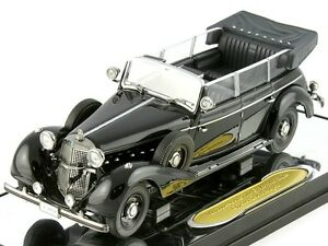 SIGNATURE 1/43 WWII GERMAN MERCEDES BENZ 770K PARADE CAR DIECAST MODEL