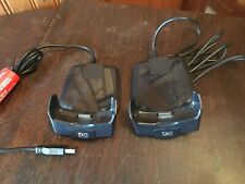 Two (2) Hp Pocket Pc Pda Docking Charging Station Cradle Model Hstnh-F02X Oem