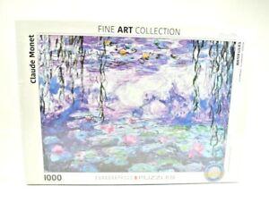 Eurographics-Fine Art Collection-Claude Monet Water Lilies 1000 pcs Puzzle New
