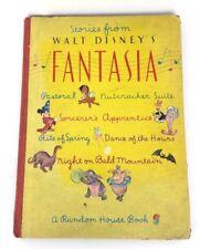 Stories From Walt Disney's Fantasia 1940 Hardcover A Random House Book USA