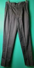 Cintas Mens Pleated Dress Pants Size 36 Gray