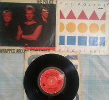 The Police (Sting]  Rare3 Records.2 picture covers.  KING OF PAIN  More