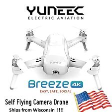 Yuneec Breeze 4K UHD Self Flying Selfie Drone w/ Case / 2x Battery / Charger
