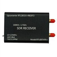 100KHz-1.7GHz SDR Radio Upconverter+1PPM TXCO RTL-SDR Receiver RTL2832U+R820T2