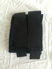 DOUBLE 9mm Magazine POUCH - Navy Blue Molle - *100% MADE IN U.S.A.* (item 006)