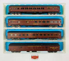 """219. Rivarossi N 9505/06/37/60 - Lot 4 Cars """" Pennsylvania RR """" - As New"""