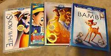 Disney Blu ray + DVD Classic Movie Lot