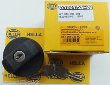 VW MK2 Golf - Genuine OE - HELLA Fuel Filler Cap & 2 Keys - Brand New Stock!!