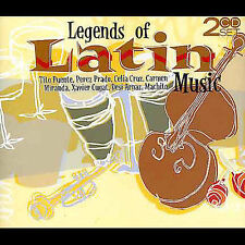 Legends of Latin Music - Various Artists    *** BRAND NEW 2CD SET ***