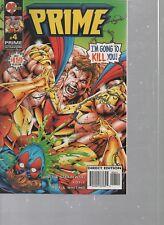 Prime #4 - January 1996 - Ultraverse - Malibu Comics - Jones & Strazewski.