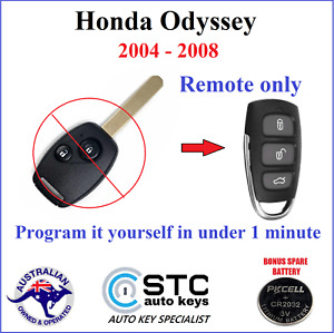 HONDA ODYSSEY COMPLETE REMOTE KEY LESS CENTRAL LOCKING 2004 2005 2006 2007 2008