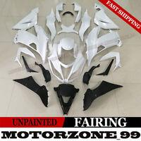 For Kawasaki 2013-2018 Ninja ZX-6R ZX6R ZX636 Unpainted ABS Fairing Kit Bodywork
