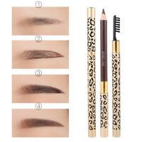 Waterproof Eyebrow Pencil Eye Brow Eyeliner Pen With Brush Pro Makeup Cosmetic
