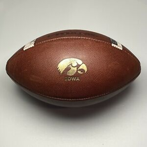 2017 University of Iowa Hawkeyes Game Used Nike Vapor Elite NCAA Football Big 10