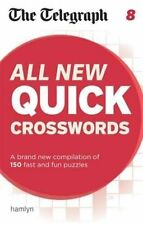 The Telegraph: All New Quick Crosswords 8 (The Telegraph Puzzle Books), New Book