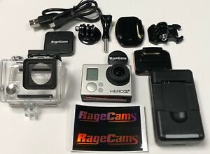 GoPro Hero3+Black Paintball Airsoft Camera Ragecams Warranty 6MM Semi Wide Lens
