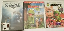 New DVD lot Disney The Muppets Kermits Swamp Years Dolphin Tale sealed childrens