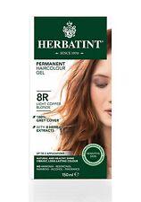 HERBATINT HERBAL NATURAL HAIR DYE LIGHT COPPER BLOND 8R 150ml - AMMONIA FREE