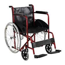 Carrozzina Pieghevole disabili Autospinta Agila Basic - Larghezza seduta 46 cm