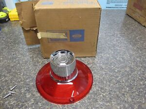 1964 Ford Galaxie NOS Rear Taillight Lens Brand New FoMoCo