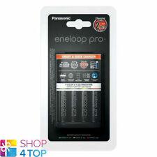 Panasonic Bq-cc55e Chargeur rapide Eneloop Pro 3h. Accus...