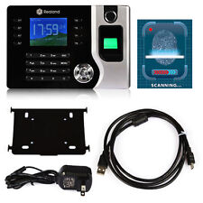 2016 New Biometric Fingerprint Attendance Time Clock+ID Card Reader+TCP/IP+USB