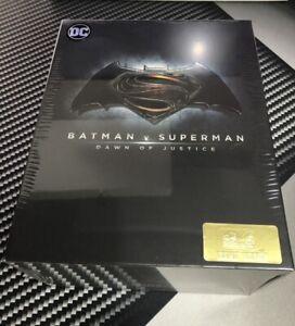 Batman v Superman HDZeta Box Set 4K Ultra HD Blu Ray Steelbook New Sealed