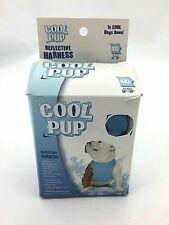 Cool Pup Cooling Dog Harness | Adjustable I Light Blue I Size XXL (KL21)