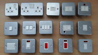 Metal Clad Electrical Switches Various Different Types Great Value!
