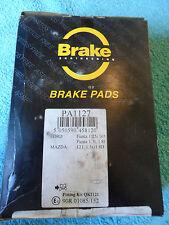 Brake Engineering, Brake Pad Set, PA1127, Ford Fiesta, Mazda 121