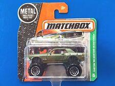 2016 Matchbox CUSTOM 1968 FORD MUSTANG MUDSTANGER 4x4 MONSTER CAR - mint on card