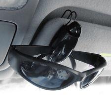 Car Vehicle Sun Visor Sunglasses Eye Glasses Card Pen Holder Clip Car Black