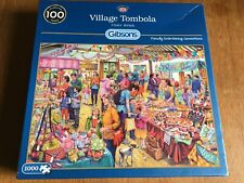 Village Tombola 1000 Piece Jigsaw by Gibsons