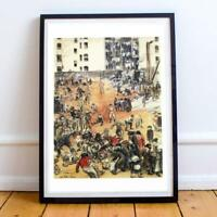 WILLIAM GLACKENS AMERICAN REALIST ASHCAN 1 22X30 INCHES ART PRINT P/P