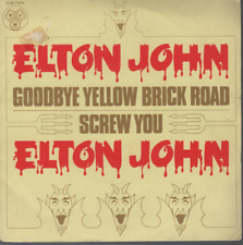 "Elton John Goodbye Yellow brick Road 45T 7"" france french pressing DJM 17616"