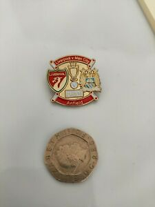 Liverpool Vs Man City Pin Badge