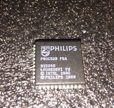 Philips P80C528FBA RMLS/512 I2C 16MHZ PLCC COM (1pc = 1 Lot)