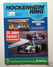 """""""Hockenheim Ring 95"""" Jahresheft Magazin, Jahresprogramm 1995 Formel 1, DTM, etc."""