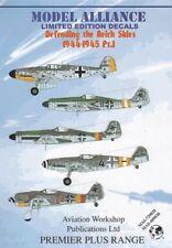 Calcomanías de la Alianza Modelo 1/72 defender el Reich cielos parte 1 # 729028