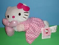 "Adorable Hello Kitty Collectible Pillow Phone Pink Jumper Shirt Bow Sanrio 18"""
