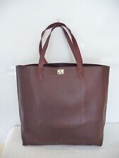 NEW MADEWELL THE TRANSPORT TOTE, B2427, DARK CABERNET, $168, MONOGRAM MDW AMI