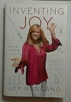Inventing Joy Signed by Joy Mangano Autographed Hardback First Edition Twist Mop