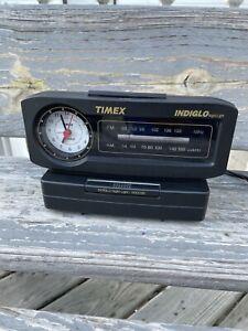 Timex VTG Indiglo FM/AM Alarm Clock Radio Night-Light TX282B Original TESTED