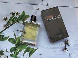 Hermes Terre D'Hermes Eau de Toilette EDT 3.3 Fl.Oz/100 ml For Men New SALE