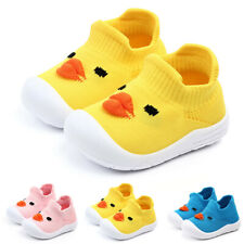Toddler Infant Baby Girls Boys Cartoon Duck Mesh Soft Sole Sport Shoes Sneakers
