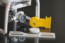 DJI Phantom 3 Flight Kit YELLOW - Cap - Hood - Gimbal Lock & Guard 3d printed