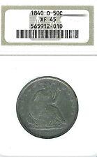 1840-O Seated Liberty Half Dollar : NGC XF45