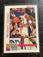 Michael Jordan Team USA 1992-93 NBA Hoops #341 Chicago Bulls