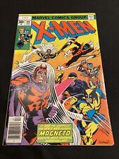 X-Men #104 ORIGINAL MARVEL COMIC BOOK 1977 NEAR MINT MAGNETO WHITE PAGES CGC It
